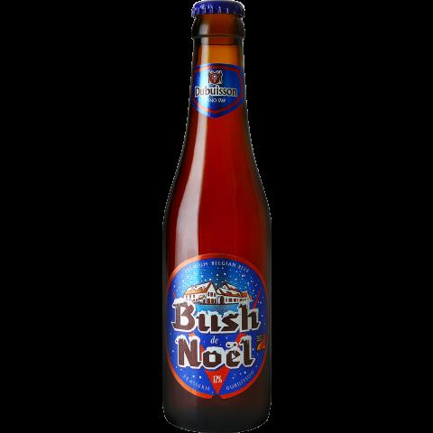 Bouteille de bière BUSH DE NOEL 12° VC33CL