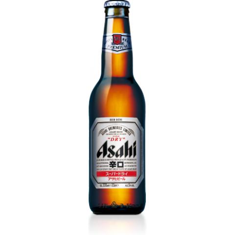 Bouteille de bière ASAHI 5.0° VP33CL