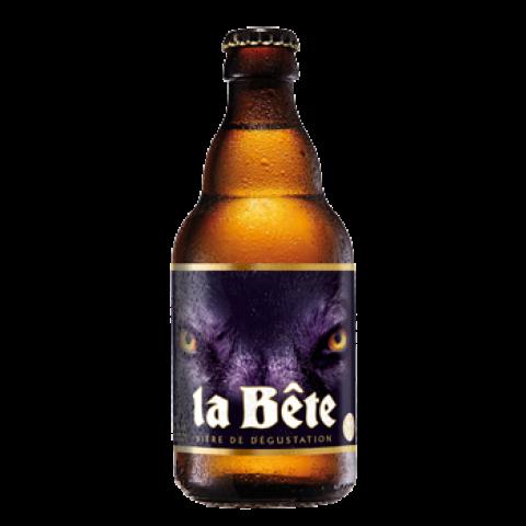 Bouteille de bière LA BETE 8.0° VP33CL
