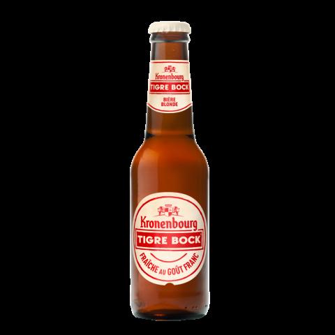 Bouteille de bière TIGRE BOCK BLONDE 5.5° VP27.5CL