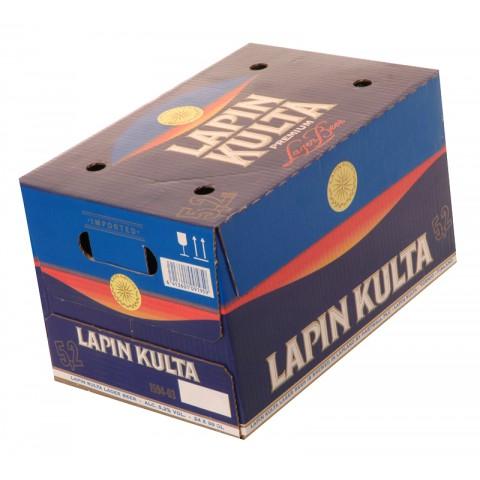 Bouteille de bière Lapin Kulta