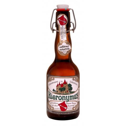 Bouteille de bière HIERONYMUS PILS nat.tru.4.8° 33CL