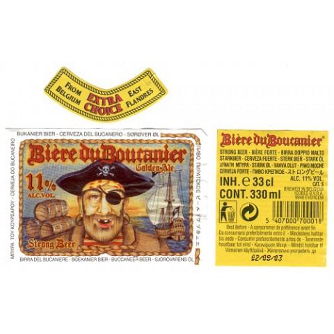 Bouteille de bière BOUCANIER GOLDEN 11°