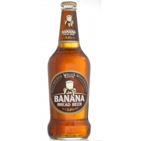 Bouteille de bière WELL BANANA BREAD 5.5° X 8