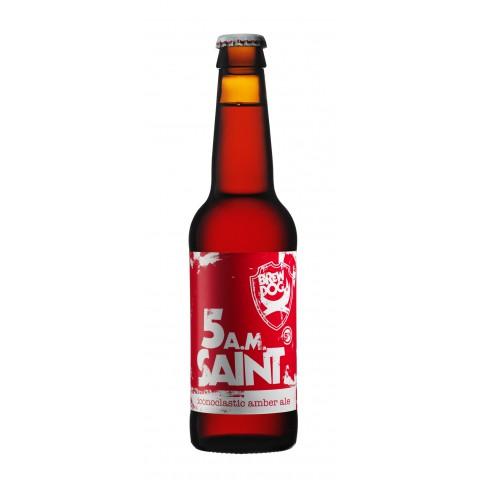 Bouteille de bière BREWDOG 5AM SAINT 5°