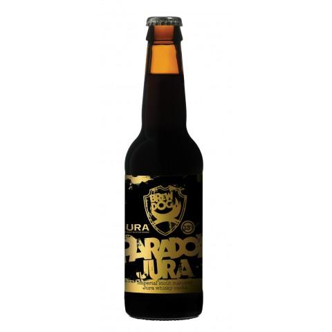 Bouteille de bière BREWDOG PARADOX JURA 15° X 24