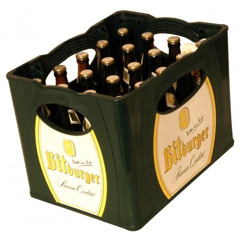 Bouteille de bière Bitburger Pils 4,6°