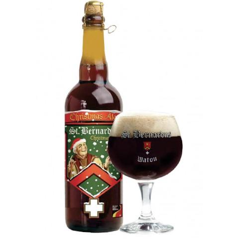 Bouteille de bière ST BERNARDUS NOEL 10° X 12