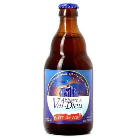 Bouteille de bière VAL-DIEU NOEL 7°