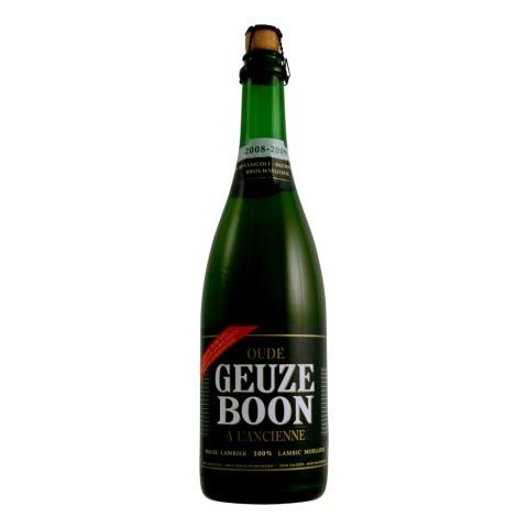 Bouteille de bière Boon Oud Gueuze 6,5°- 75 cl
