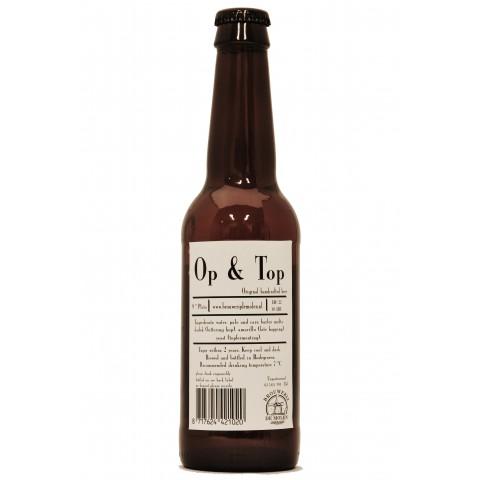 Bouteille de bière DE MOLEN OP & TOP 4.5°