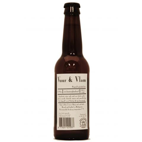 Bouteille de bière DE MOLEN VUUR VLAM 6.2°