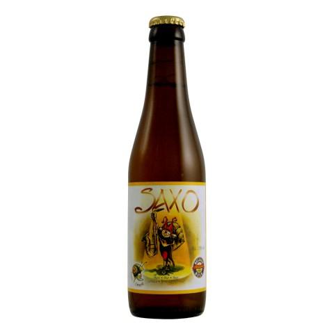 Bouteille de bière Saxo BIO 8°