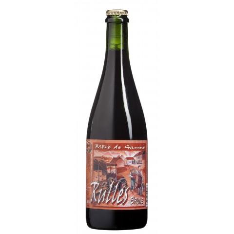 Bière La Rulles Brune (6,5° - 75cl)