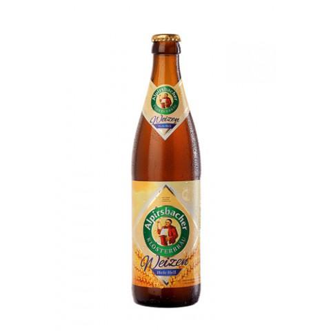 Bière Alpirsbacher Weizen Hefe Hell (5,2° - 50cl)
