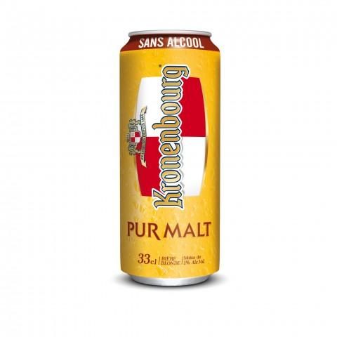 Bouteille de bière BOITE KPM KRO PURE MALT 33CL