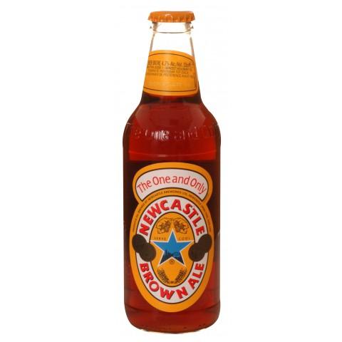 Bouteille de bière Newcastle 4,7°