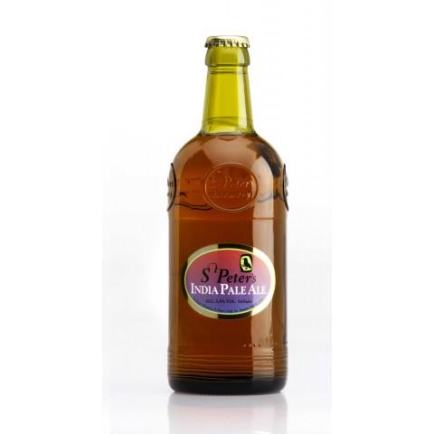 Bouteille de bière ST PETERS IPA 5.5°