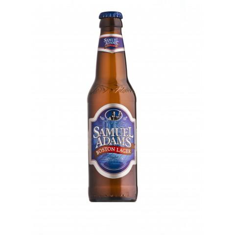 Bouteille de bière SAMUEL ADAMS LAGER 4.8°