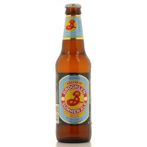 Bouteille de bière BROOKLYN SUMMER ALE 5°