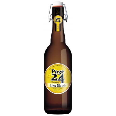 Bière Page 24 Blonde (6,9° - 75cl)