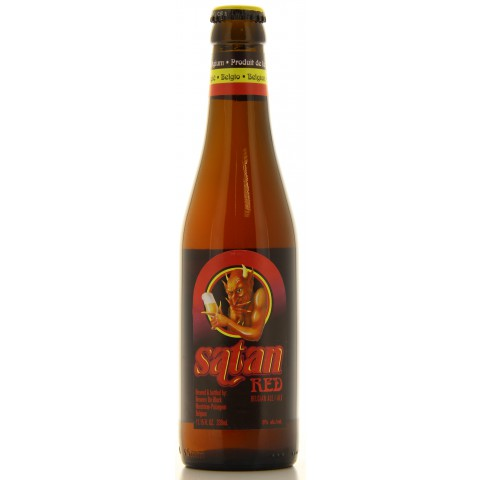 Bouteille de bière Satan Red 8°