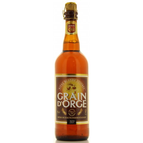 Bouteille de bière GRAIN D ORGE 8°