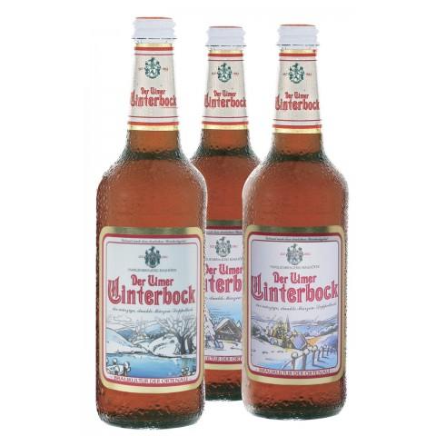 Bouteille de bière ULMER MAIBOCK BLEUE 7.3°