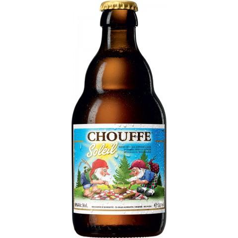 Bouteille de bière CHOUFFE SOLEIL 6°