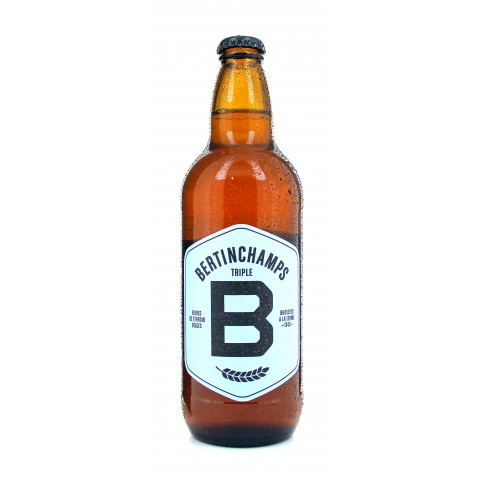 Bouteille de bière BERTINCHAMPS 6.2° TRIPLE VP50cl