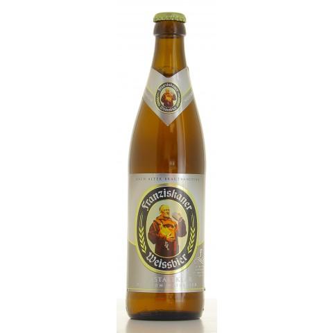 Bouteille de bière Franziskaner Weizen Krist 5°