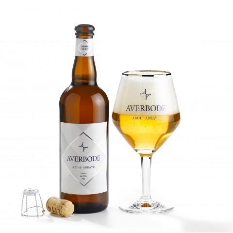 Bouteille de bière COFFRET AVERBODE 7.5° 1X75 2V