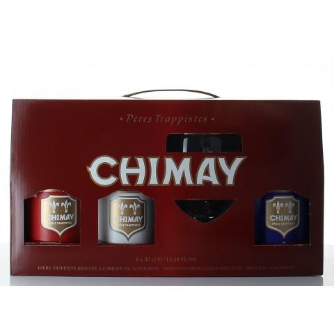 Bouteille de bière COFFRET CHIMAY 6B 33CL 1V