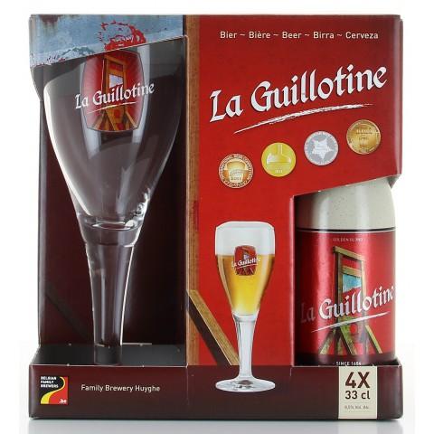 Bouteille de bière Coffret Delirium 4 bt 33cl 1verre Vendu par 6 Coffrets