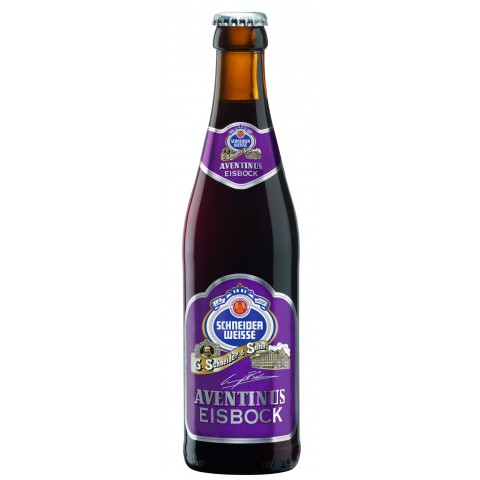 Bouteille de bière SCHNEIDER EISBOCK 12°