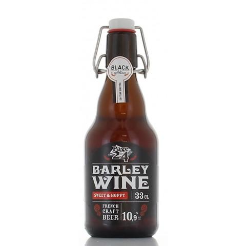Bouteille de bière PAGE 24 BARLEY WINE 10.9° VP33