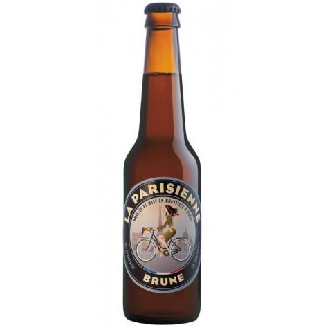Bouteille de bière LA PARISIENNE BRUNE 5.5° VP33CL