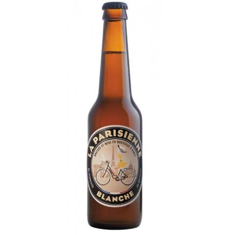 Bouteille de bière LA PARISIENNE BLANCHE 5.5° VP33CL