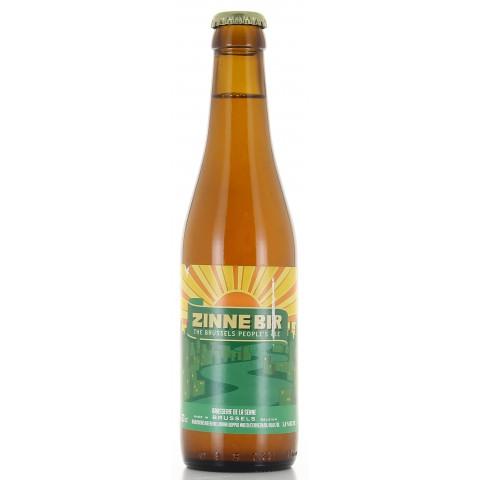 Bouteille de bière ZINNEBIR 5.8°