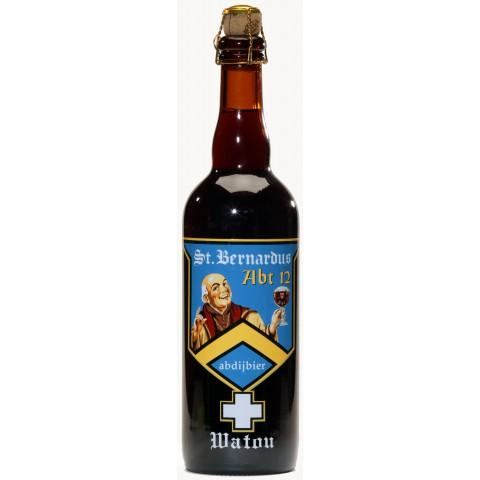 Bouteille de bière ST BERNARDUS ABT12 10°