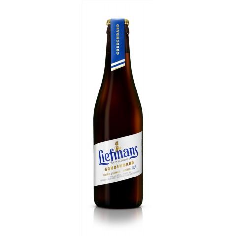Bouteille de bière LIEFMANS GOUDENBAND 8°