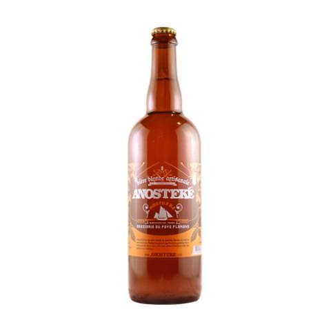 Bouteille de bière Anosteke 8° 75cl