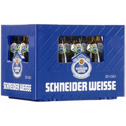 Bouteille de bière SCHNEIDER HOPFENWEISSE 8.2°VC50
