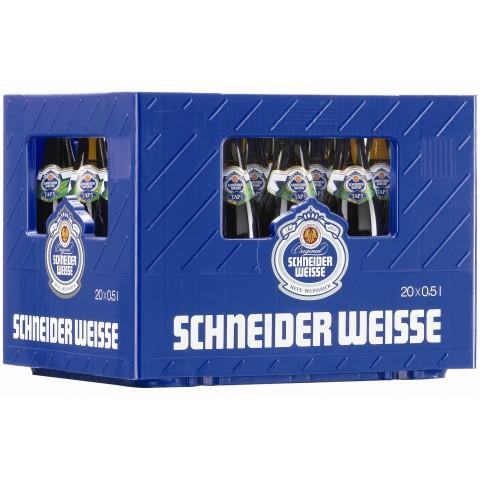 Bouteille de bière SCHNEIDER BIOWEIZEN 6.2° VC50