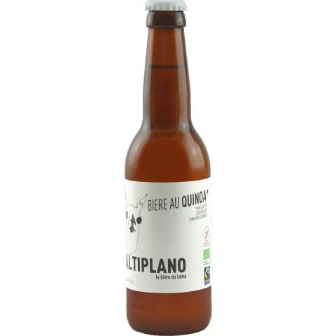 Bouteille de bière ALTIPLANO SS GLUTEN BIO4.5°VP33