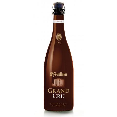 Bouteille de bière St Feuillien grand cru 9.5° 75cl