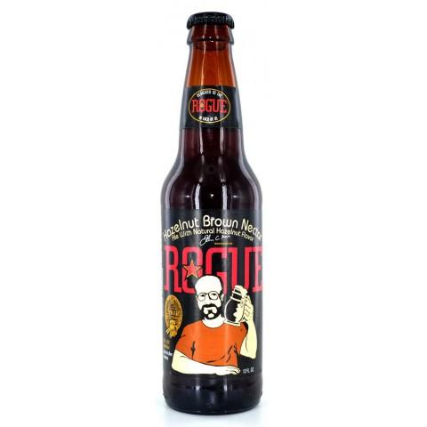 Bouteille de bière ROGUE HAZELNUT BROWN NECTAR 5.6° VP35.5
