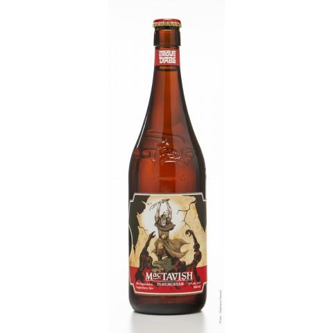 Bouteille de bière TROU DIABLE MACTAVISH 5° 60CL