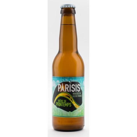 Bouteille de bière PARISIS PRINTEMPS 6.0° VP75CL