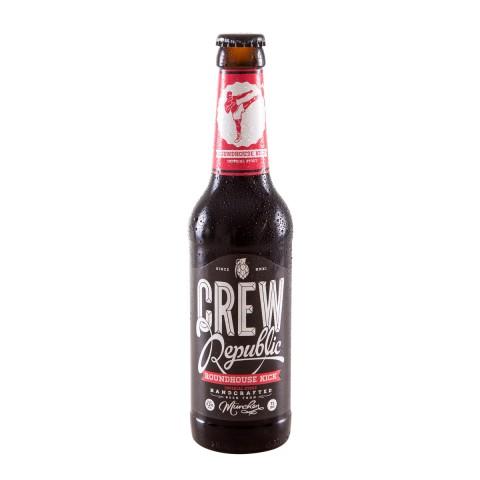 Bouteille de bière CREW REPUBLIC ROUNDHOUSE KICK IMPERIAL STOUT 9.2 VP33CL